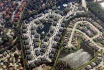 Arial view of Hawthorne